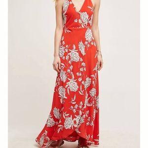 Yumi Kim silk wrap maxi dress